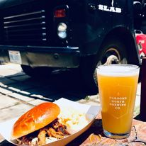 Slab Food Truck at Parsons North Brewing Company
